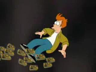 Futurama 01x06 Konzerva za všechny prachy