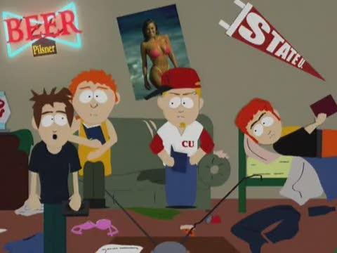 Městečko South Park 04x15 Tábor tlusťochů
